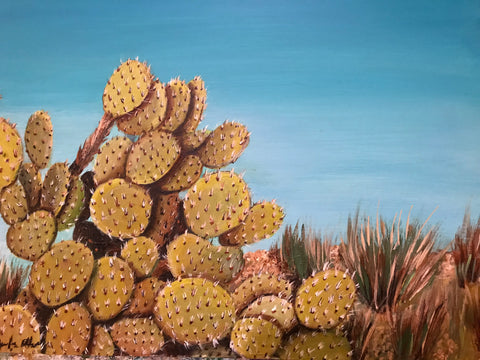 PRICKLY by artist Douglas Alvarez