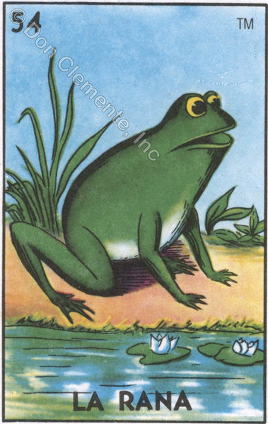 LA RANA (The Frog) #54 by artist Michelle Waters