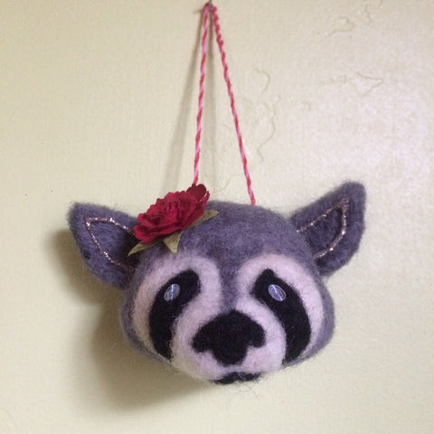 RASCAL RACCOON by artist Christine Benjamin