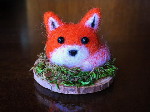 WEE FOX RED #1 by artist Francesca Rizzato