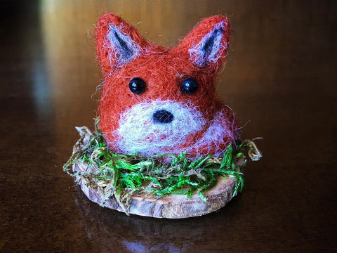 WEE FOX RED #2 by artist Francesca Rizzato