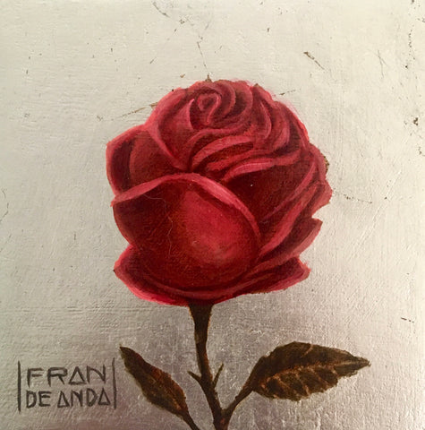 THE ROSE by artist Fran De Anda
