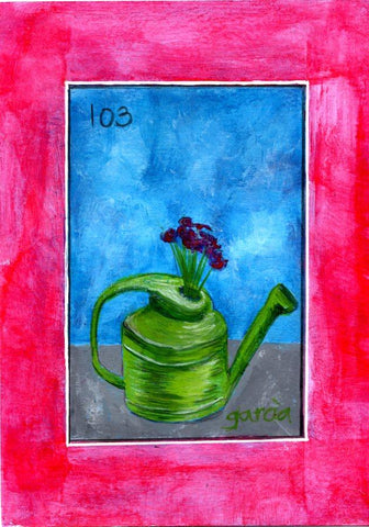 LA REGADERA #103 (The Watering Can)  by artist Rosie Garcia