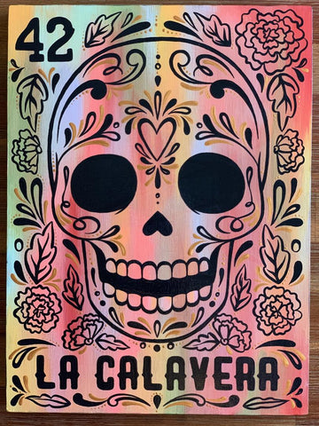 LA CALAVERA (The Skull) #42 by artist Ruth Barrera