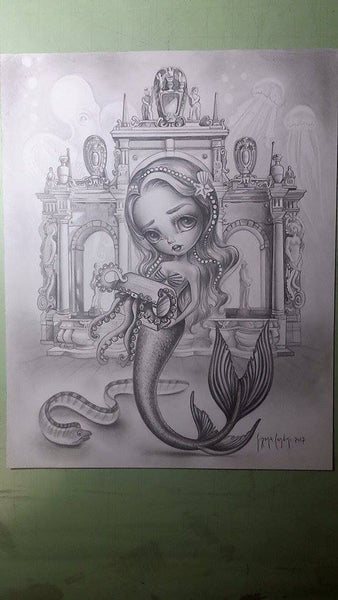 #6 LA SIRENA (The Mermaid) by artist Simona Candini