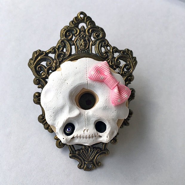 SKULL DONUT by artist Nobu Happy Spooky