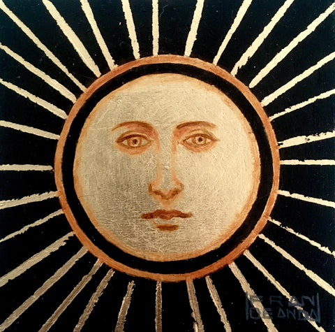 THE SUN by artist Fran De Anda
