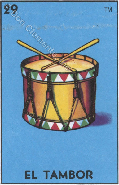 EL TAMBOR (The Drum) #29 by artist Sarah Polzin