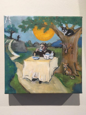 OAT STRAW TEA FOR TILLERMAN by artist Nancy Cintron