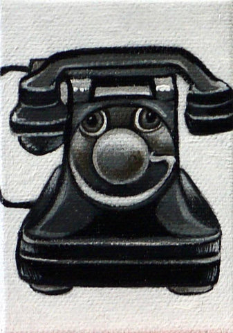 EL TELEFONO (The Telephone) #83 by artist Janet Olenik