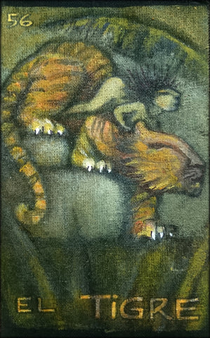 EL TIGRE (The Tiger) #56 by artist Patricia Krebs