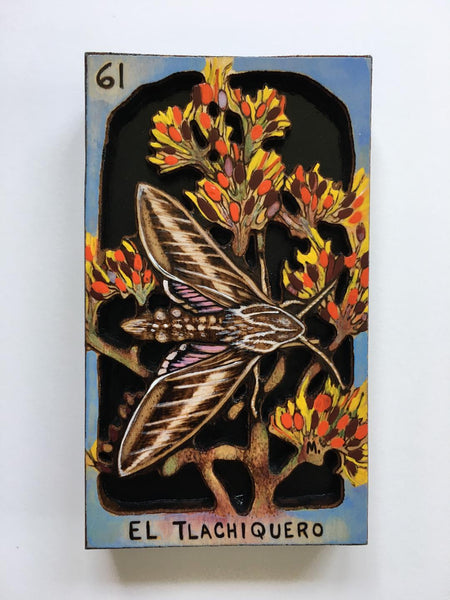 EL TLACHIQUERO (The Agave Harvester) #61 by artist Samantha Mullen