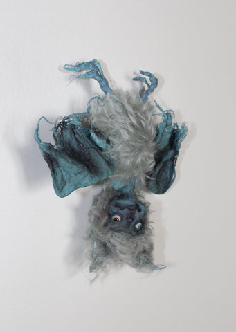 TWIGS, BLUE DEVIL BAT by artist Prim Pumpkin (Jennifer Hepler-Takens)