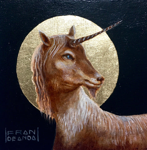 UNICORN by artist Fran De Anda