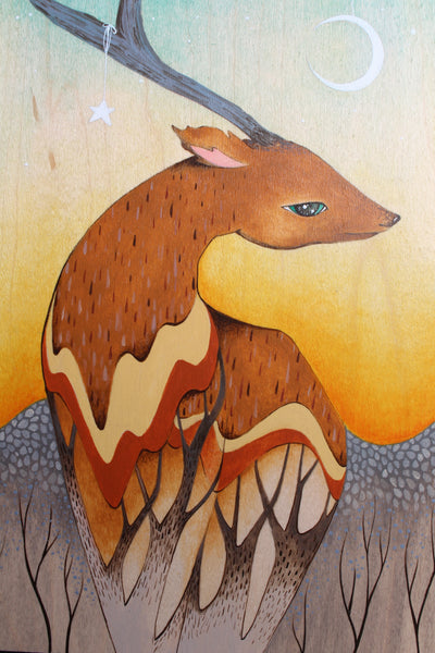EL VENADO #45 (The Deer) by artist Malathip