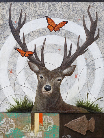 El venado #45 (The Deer) by artist Joshua Coffy