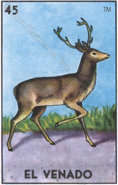 EL VENADO (The Deer) #45 by artist Mavis Leahy