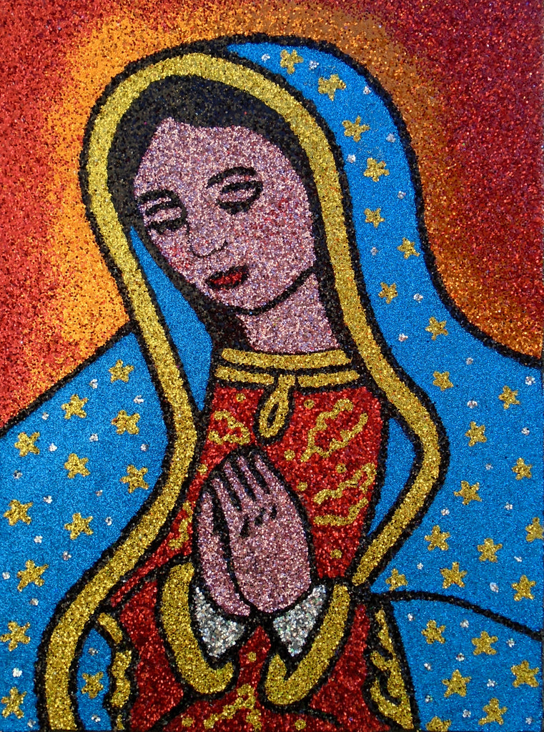 VIRGEN DE GUADALUPE by artists Evād and Sue Zola