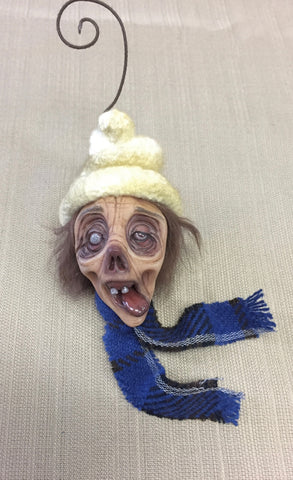 WINTER WONDERLAND ZOMBIE #1 by artist Sheila Bentley