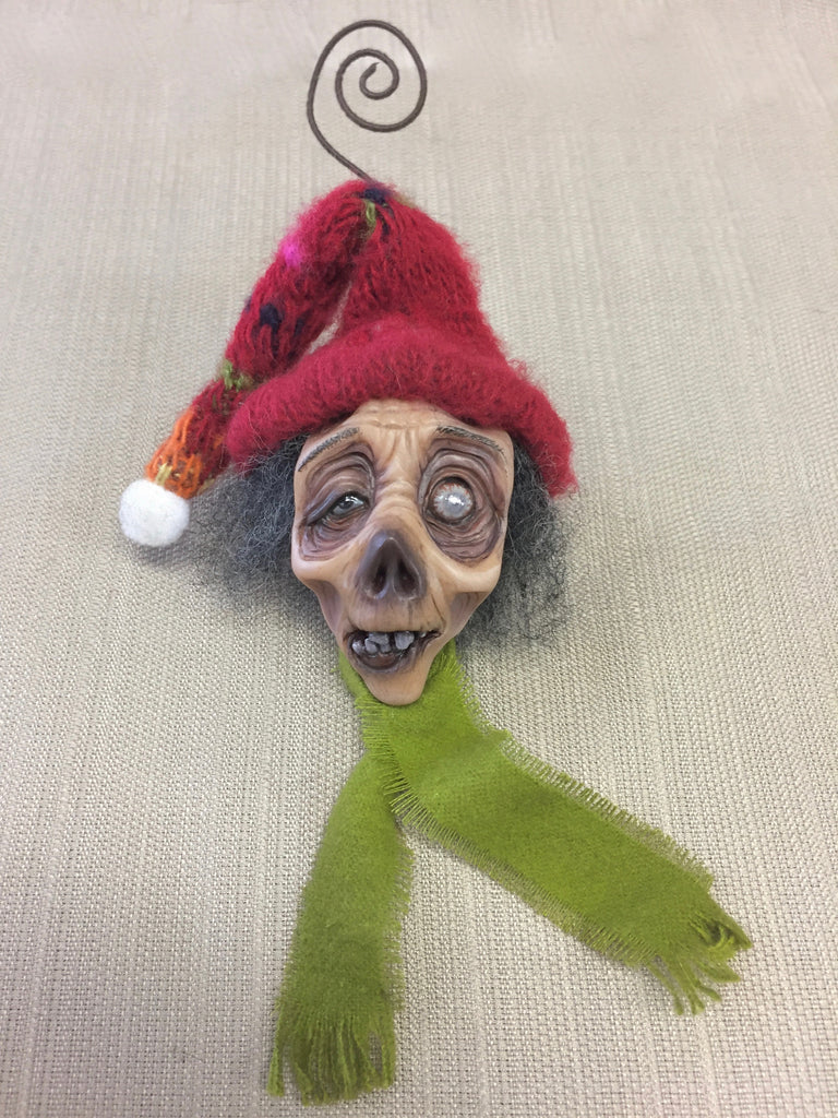 WINTER WONDERLAND ZOMBIE #2 by artist Sheila Bentley