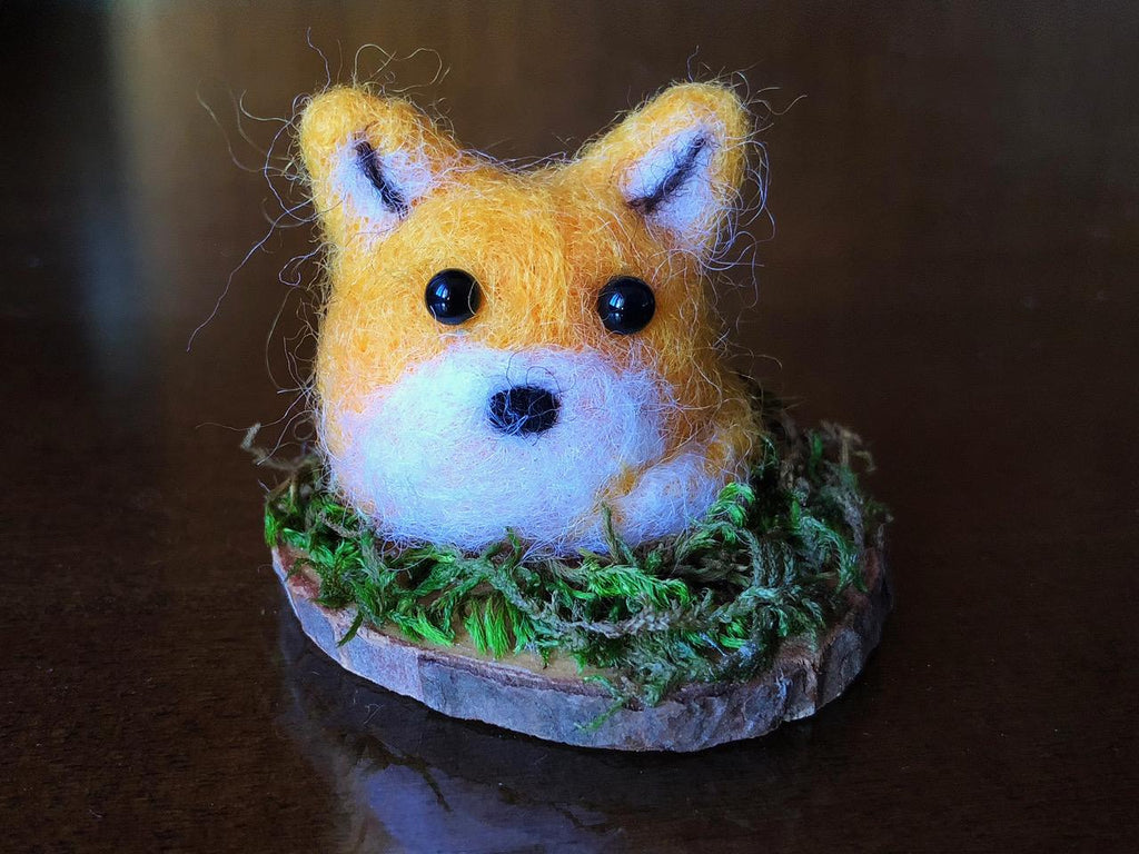 WEE YELLOW FOX by artist Francesca Rizzato