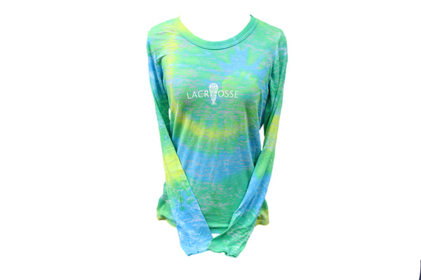 Burnout Tie-Dye Long Sleeve - Lacrosse