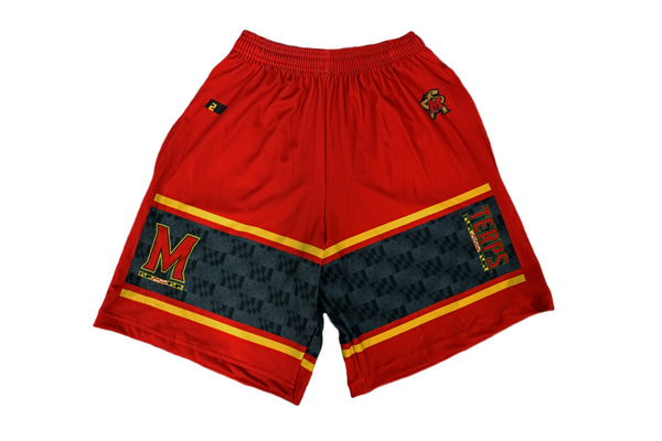 Maryland Red Board Shorts