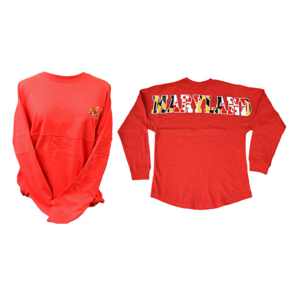 Pennant Billboard Long Sleeve Shirt - Maryland