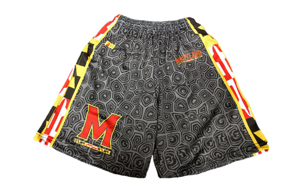 Black Shell Maryland Flag Shorts