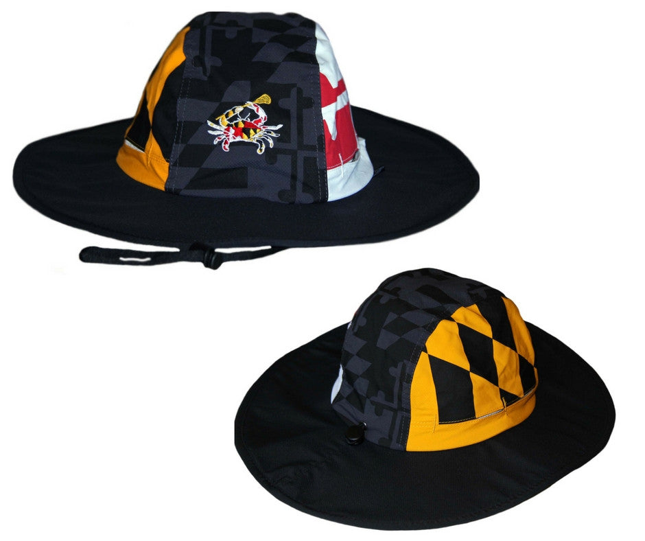 Maryland Lacrosse Embroidered Boonie Hat