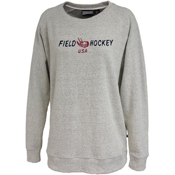 Pennant Poodle Fleece Sweatshirt - Lacrosse & Field Hockey