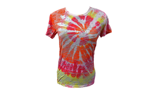 Burnout Tie-Dye Short Sleeve - Field Hockey