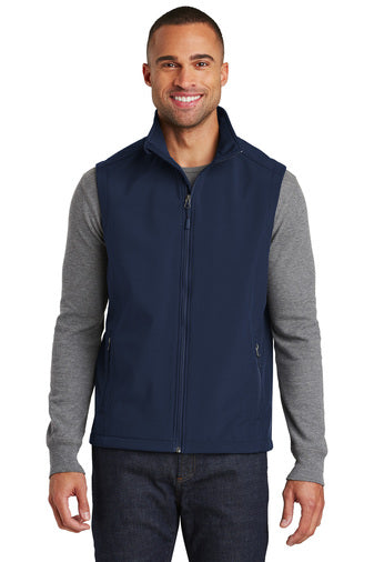 1 J325 Port Authority® Core Soft Shell Vest