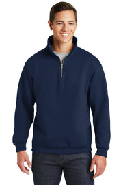 UMMC 995M JERZEES® SUPER SWEATS® NuBlend® - 1/4-Zip Sweatshirt with Cadet Collar