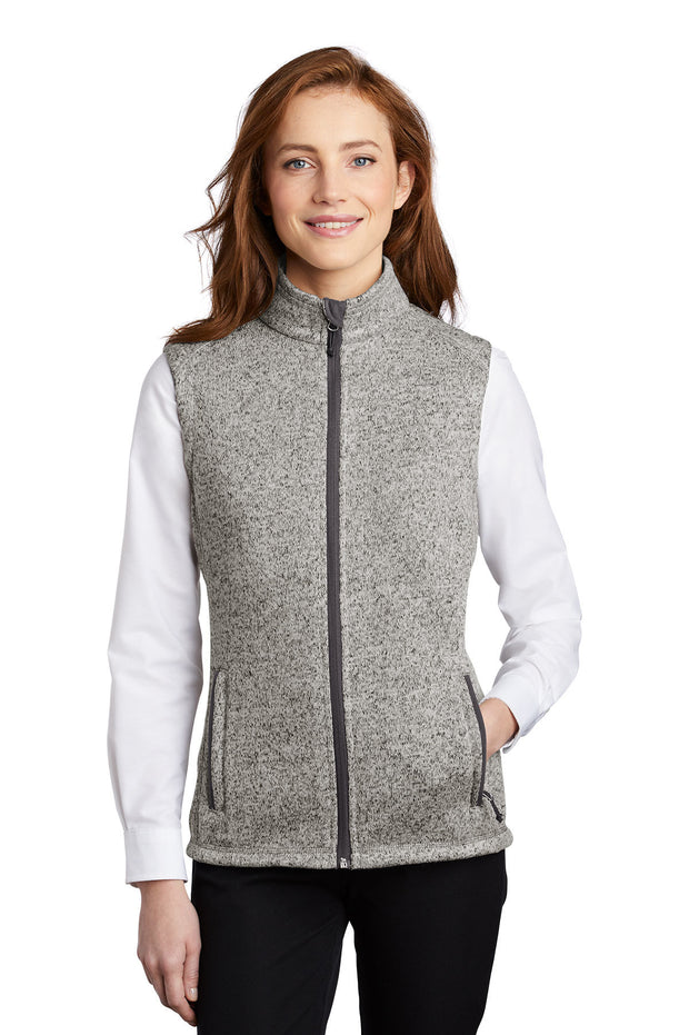 JHU L236NEW Port Authority ® Ladies Sweater Fleece Vest