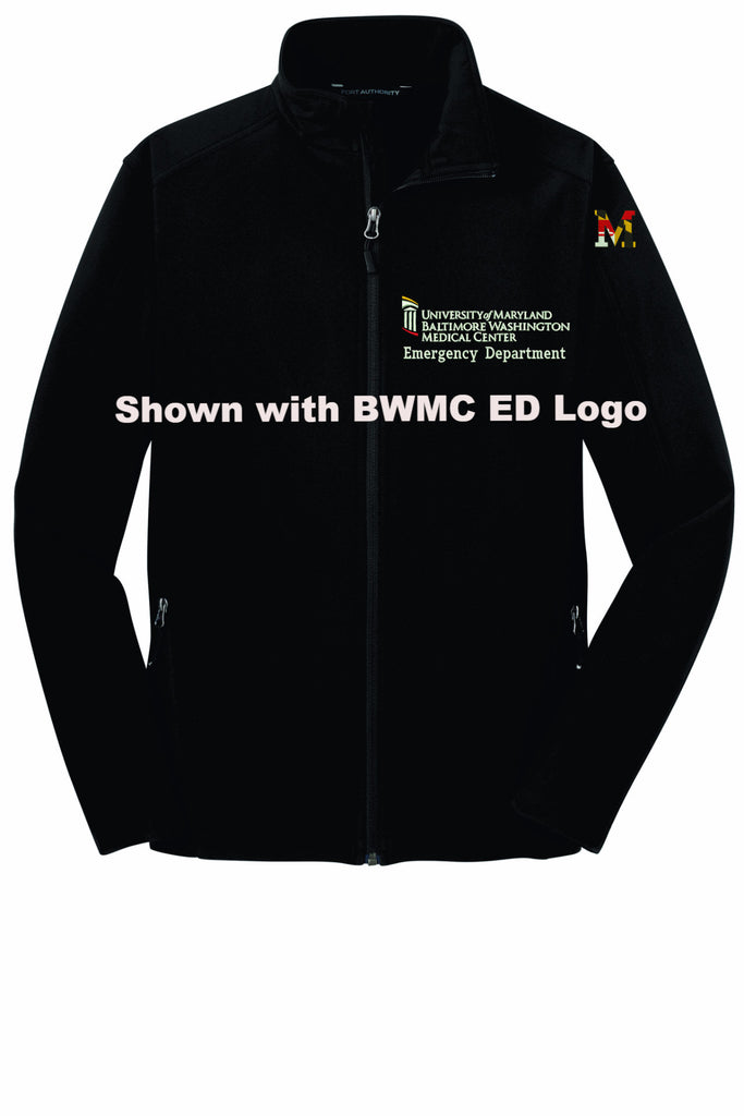 BWMC Nursing Support Svs Soft Shell Male Jacket J317