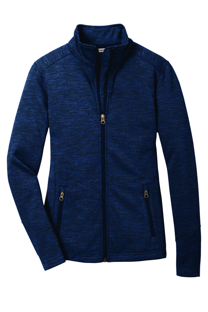UT Port Authority® Ladies Digi Stripe Fleece Jacket L231 Women