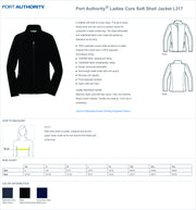 UMMC Express Care Soft Shell Female Jacket L317