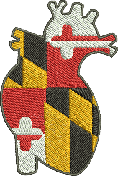 Maryland Heart Sleeve