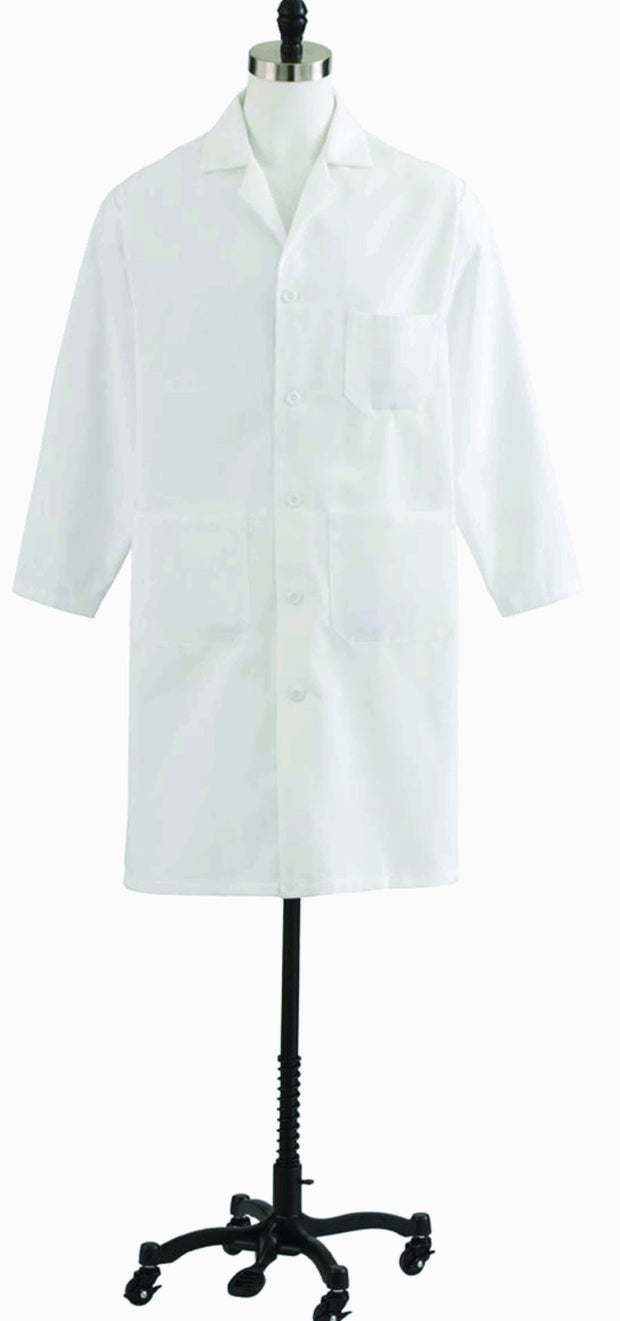 Medline Mens Heavyweight Lab Coat