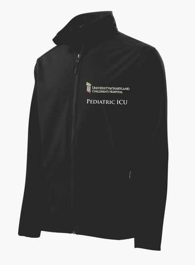 UMMC Peds ICU Soft Shell Male Jacket J317