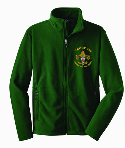 Troop 447 Full Zip Fleece F217