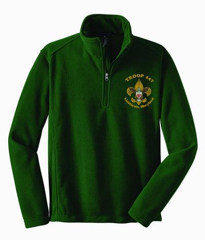 Troop 447 Quarter Zip Fleece F218