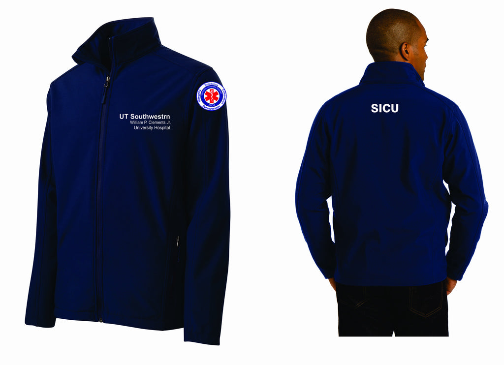 UT SICU Soft Shell Male Jacket J317