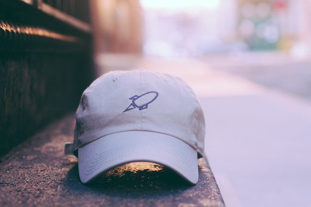 Tan Rocket Baseball Cap