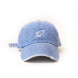 Denim Rocket Baseball Caps