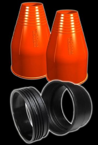 New Tusa WaterProof Quickseal Kit for a Pair of Integrated Quick Change Silicone Drysuit Wrist Seals -Orange