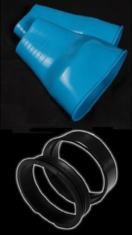 New Tusa WaterProof Quickseal Kit for a Pair of Integrated Quick Change Silicone Drysuit Wrist Seals -Blue