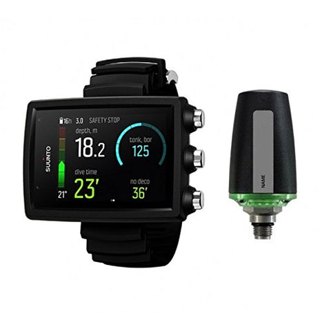 Suunto Eon Core Wrist Dive Computer - Black With Transmitter And USB
