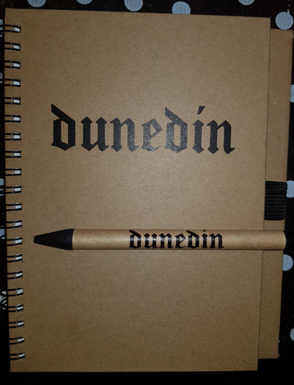 Dunedin Notebook and pen
